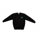 엔조 블루스(ENZO BLUES) EU Printed Sweatshirt (Black)