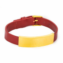 디자인바이티에스에스(Design By TSS) Design By TSS LEATHER BRACELETS (RED)