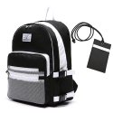 로디스(LODIS) [로디스] 3D BACKPACK - BLACK & WHITE