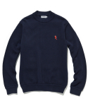 라이풀() KANCO HALF NECK KNIT SWEATER navy