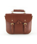 스케르잔도(SCHERZANDO) Tassel Satchel Bag (No.1) / BROWN