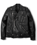 헤비스모커(HEAVYSMOKER) Fake zipper leather jacket