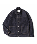 제로() Oversized Type-2 Denim Jacket (Vintage Indigo)