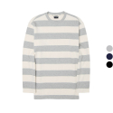 이스트쿤스트(IST KUNST) HEAVYWEIGHT STRIPE LONG TSHIRT (IK1HSMT550A)