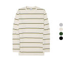 이스트쿤스트(IST KUNST) MULTI PIN STRIPE LOOSE LONG TSHIRT (IK1HSUT550A)
