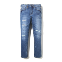 이스트쿤스트(IST KUNST) GRAZ PATCH WASHED JEANS (IK1HSMD174A)