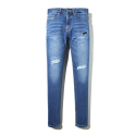 이스트쿤스트(IST KUNST) LIBERTY PATCH WASHED JEANS (IK1HSMD177A)