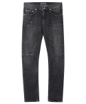 M#1220 black night new biker jeans