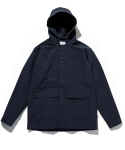 라이풀() HOODED SNAP JACKET navy