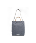 로우로우(RAWROW) [로우로우] TRIPLE TOTE 204 WAXED CHARCOAL