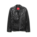 에센시(ESSENSI) [ESSENSI] WOMEN LEATHER JACKET (ES1HSFL280A)