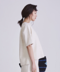 어헤이트(AHEIT) LOOSE FIT NATURAL LINEN TOP