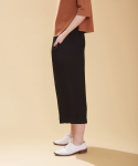 어헤이트(AHEIT) WIDE LEGGED BLACK CULOTTES
