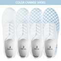 MISTIC-CHACK-WHITEBLUE/color changeable shoes