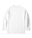 인사일런스(INSILENCE) Patched Long Sleeve Tee (White)