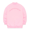 미뇽네프(MIGNONNEUF) BALLOON HIGH NECK SWEAT SHIRTS PALE PINK