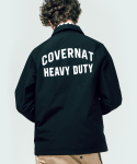 커버낫(COVERNAT) COACH JACKET BLACK
