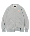 유니폼브릿지() cotton zip up cardigan grey