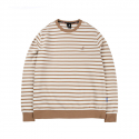 캉골() Stripe light sweat 1547 Biscuit
