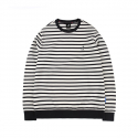 캉골() Stripe light sweat 1547 Navy