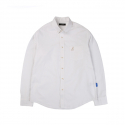 캉골(KANGOL) Basic Oxford Shirts 7023 White