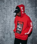 어라운드 80(AROUND 80) MISSING CLEO HOODIE_RED
