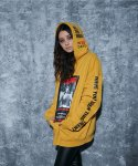 어라운드 80(AROUND 80) MISSING CLEO HOODIE_MUSTARD