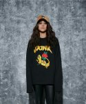 어라운드 80(AROUND 80) SKINK LONG SLEEVES_BLACK