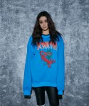 어라운드 80(AROUND 80) SCORPION SWEAT SHIRTS_BLUE