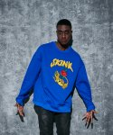 어라운드 80(AROUND 80) SKINK SWEAT SHIRTS_COBALT