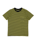 어라운드 80(AROUND 80) POCKET STRIPE T-SHIRTS_YELLOW