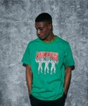 어라운드 80(AROUND 80) MUMMIES T-SHIRTS_GREEN