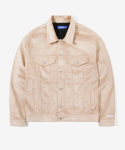 레이어 유니온(LAYER UNION) SUEDE TRUCKER JACKET BEIGE