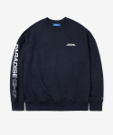 레이어 유니온(LAYER UNION) PRDS NUMBER SWEATSHIRT NAVY