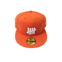 유에스에이 머친다이징(U.S.A MERCHANDISING) UND 5 STRIKES NEW ERA BALLCAP [3] (ORANGE)