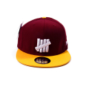 UND FIVE STRIKE BALL CAP NEW ERA [2] (WINE)