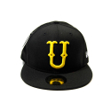 유에스에이 머친다이징(U.S.A MERCHANDISING) UND COLLEGE U BALL CAP NEW ERA [1] (BLACK)
