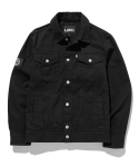 BACK AD TRUCKER JACKET black
