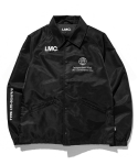 엘엠씨() MERCEDES COACH JACKET black