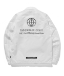 MERCEDES COACH JACKET white