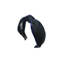 오뜨르 뒤 몽드(AUTOUR DU MONDE) PAJAMA HAIRBAND (DARK GRAY)
