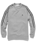 라이풀() OG STRIPE TAPED SWEATSHIRT heather gray