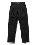 라이풀() ONE TUCK DENIM PANTS washed black