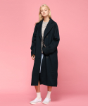 매치글로브() MG7S DOUBLE TRENCH COAT (NAVY)