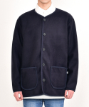 쟈니웨스트() Basic Pipe Cardigan (Navy)