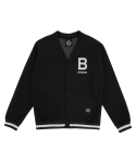 트라이투톡() T37S BIG B CARDIGAN (BLACK)