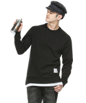 팻밸리(FATBELLY) FATBELLY : Raglan Layered MTM 블랙