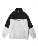 어반스터프() USF HALF ZIP SWEAT SHIRTS MELANGE