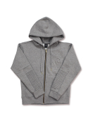 롤로(LOLO) ZIPPER HOODIE WOMEN (HEATHER GREY)