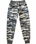 SWEAT PANTS WOMEN (GREY CAMO)